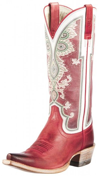 Ariat Red Alameda Stiefel