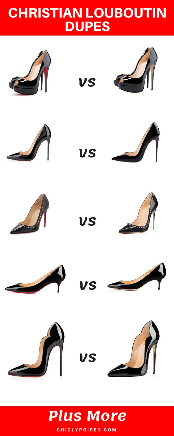 10 Best Cheap Christian Louboutin Heels Dupes Too Good To Pass Up