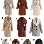 10 Must Have Classic Affordable Coats for Winter