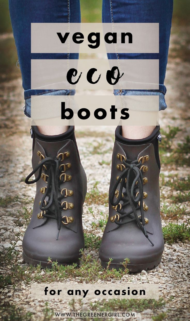 10+ vegan & eco boots for any occasion. Whether you are an adventure seeker or a…