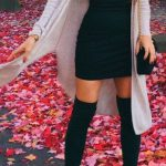 100+ Trending Women's Thigh High Boots Outfit Ideas for Fall or Winter 2018