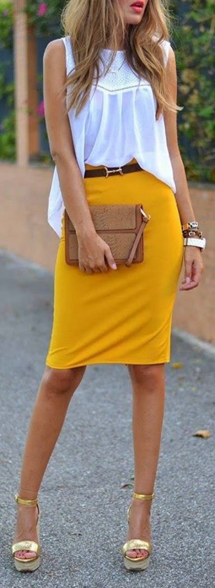 16 New ideas for skirt yellow outfit ideas fall