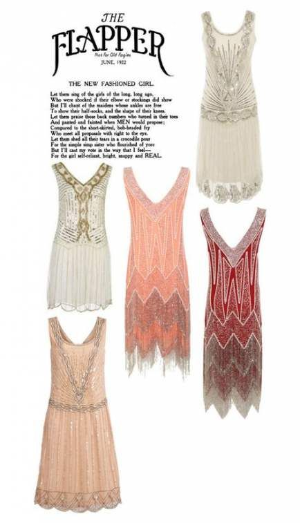 16+ Super Ideas For Fashion Style Party Flapper Dresses