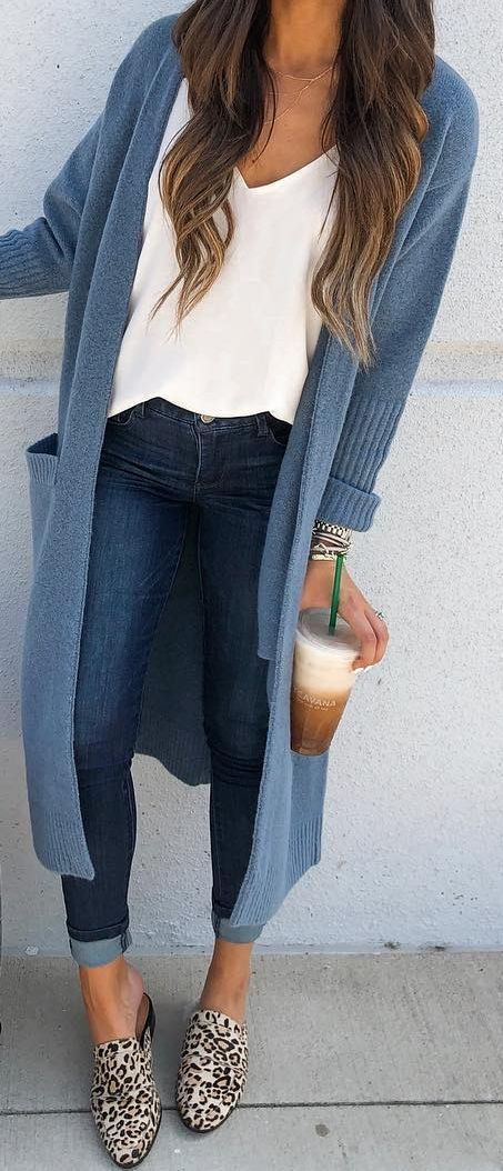 19 Cheap Cardigan Outfit You Must Try During Winters