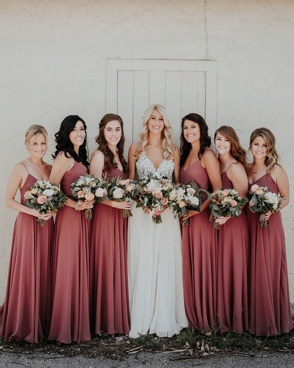 20 Trendy & Romantic Cinnamon Rose Wedding Color Ideas