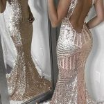 2020 Open Back Sequin Sparkly Mermaid Fashion Sexy Elegant Prom Dresses, Evening party dress, PD0609 2020 Open Back Sequin Sparkly Mermaid Fashion Sexy Elegant Prom Dresses, Evening party dress, PD0609