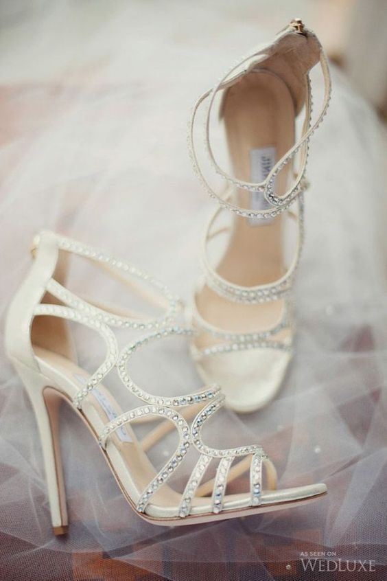 22 Breath-taking Ivory Wedding Shoes for Your Dress