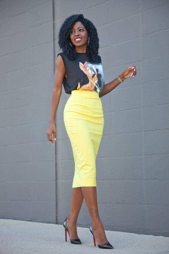 28 Cute Tops for Pencil Skirts