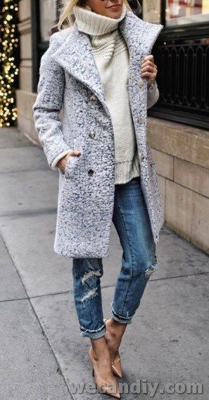 30 Awesome Jacket For Women Winter Casual Outfits