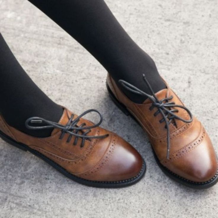 34 Happy Fall! New Leather Shoes for Women