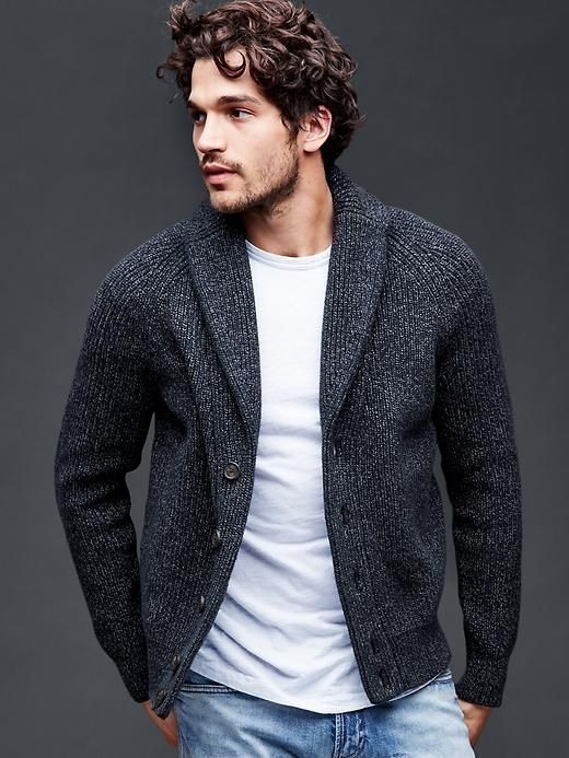 36 Fabulous Men's Cardigan Outfit To Copy Now