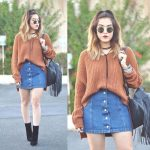 36 Fancy Winter Outfits Ideas Jean Skirts