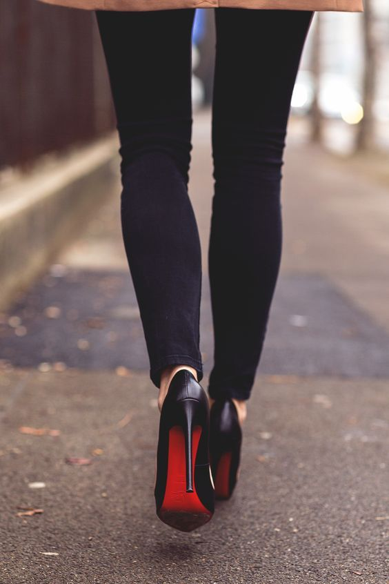 40+ Glamour Shoes Red Bottom Ideas