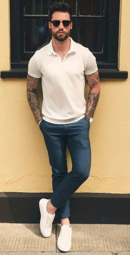 42 Coolest Men's Style with Casual Summer Outfits
