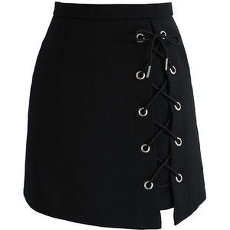 42 Perfect Tie Bud Skirt Outfit Ideas In Black