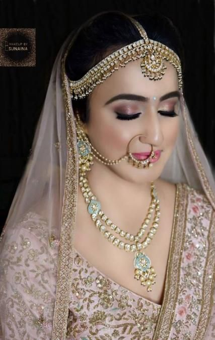 45+ ideas makeup bridal indian necklaces for 2019