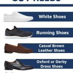 5 Shoes Every Guy Must Own