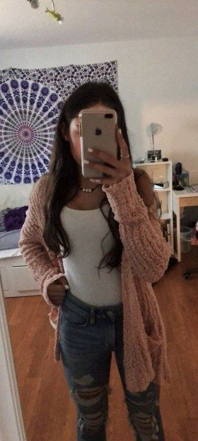 50+ Cute teen casual winter outfits 2019