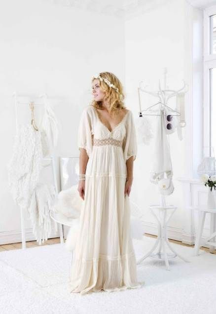 61+ trendy ideas for wedding dresses simple hippie white lace