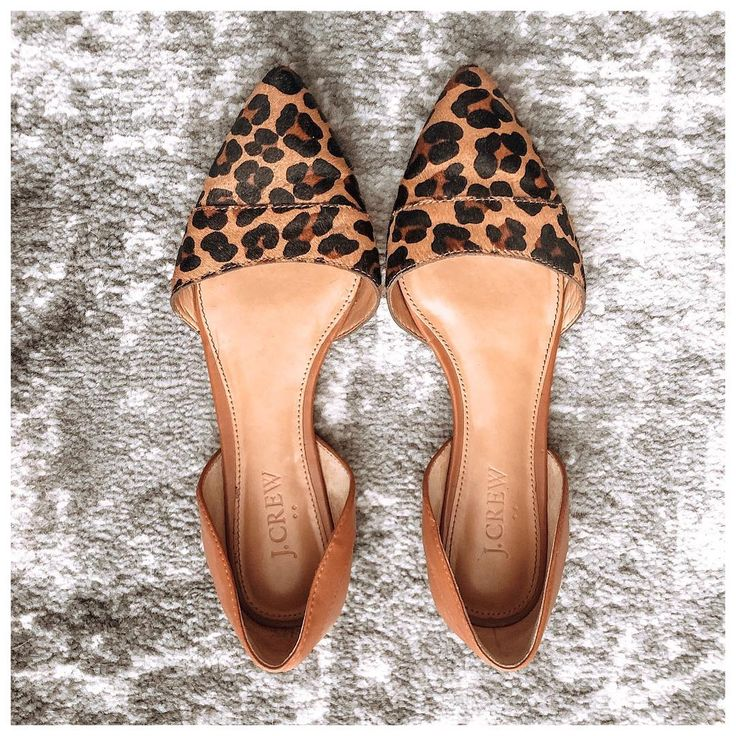 A leopard flat is a Fall staple. This pair is from a few years ago but I linked …
