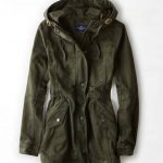 AEO Canvas Anorak, Green | American Eagle Outfitters                            ...