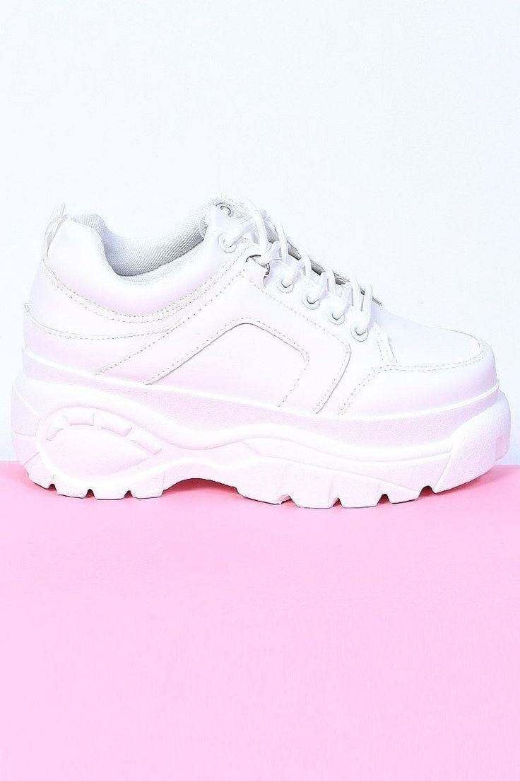 Above The Law Platform Sneaker – White