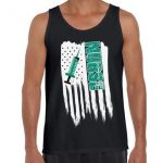 American Flag Nurse Men Tank Top. 4th of July Gifts. Retro USA Nurse Men Shirt. Love USA.