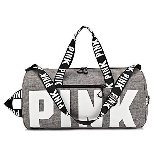 Ativafit Duffle Bag Gym Exercise Sport Tote Bag Overnight Travel Weekend Bag Women