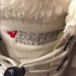 BAFFIN BOOTS BAFFIN Boots Size 5 Well loved White with black trim Very warm Baff...