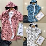 *BRAND:- MUFTI * *PATTERN:- HOODIE PRINT shirts in 3 awesome colors*  _FABRIC:- ...