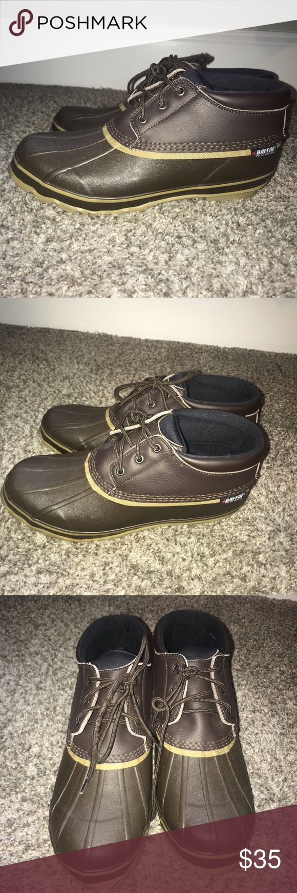 Baffin Boots 13 Low Baffin duck style boots in very good condition. Perfect for …