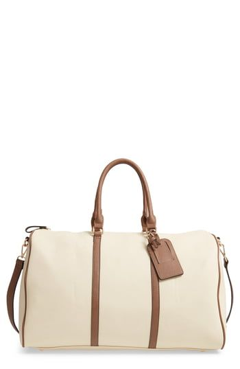 Best Seller Sole Society Lacie Faux Leather Duffle Bag online