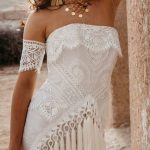 Bohemian wedding dress #weloveboho#boho#bohemian#gypsy#freespirit#fashion#weddin...
