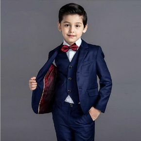 Boys 5pcs Blazer Suit