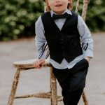 Boys Suits Slim Fit Dress Clothes Ring Bearer Outfit Kinds Formal Wear Suits Boy s Wedding Tuxedo Waistcoat (vest Pants)