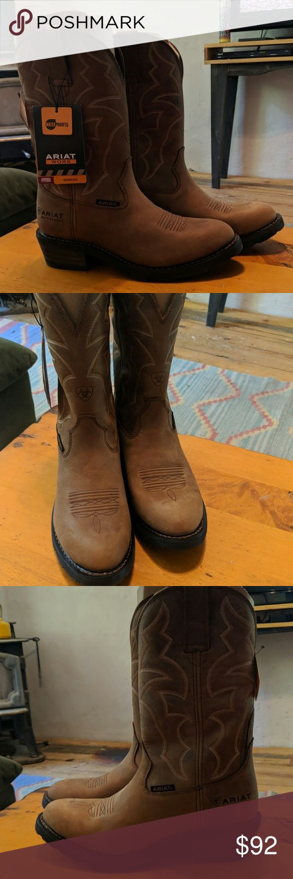 Brand New Ariat Waterproof Cowboy Boots Beautiful, comfortable, well made Ariat …