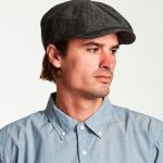 Brixton Hats - Brood Snap Cap Grey Black - S