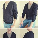 Burdastyle Mens Cardigan Andrew Sew Along Part 3 (final): Sleeves and Buttonholes