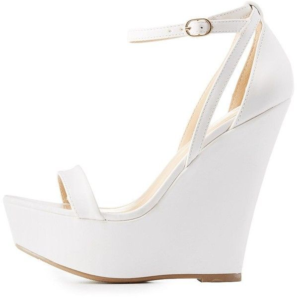 Buying shoes with white wedges