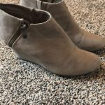 Chinese Laundry Boot Taupe color ankle boot. Excellent condition 3in heel Chines...