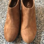 Chinese laundry boots CL boots rust suede never worn 3in heel Chinese Laundry Sh...