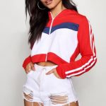 Colour Block Sports Jacket | Boohoo
