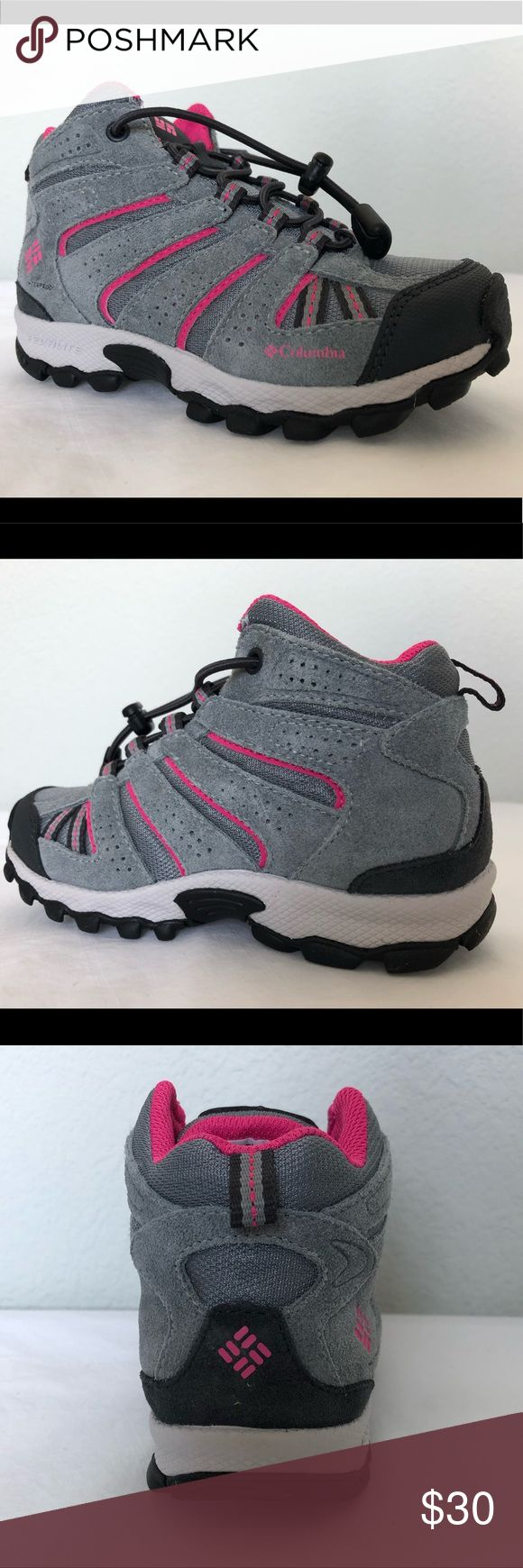 Columbia Childrens North Plains Hiking Boot Brand New!! These waterproof shoes h…