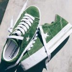 Converse x MadeMe Women's Green One Star Platform Sneakers