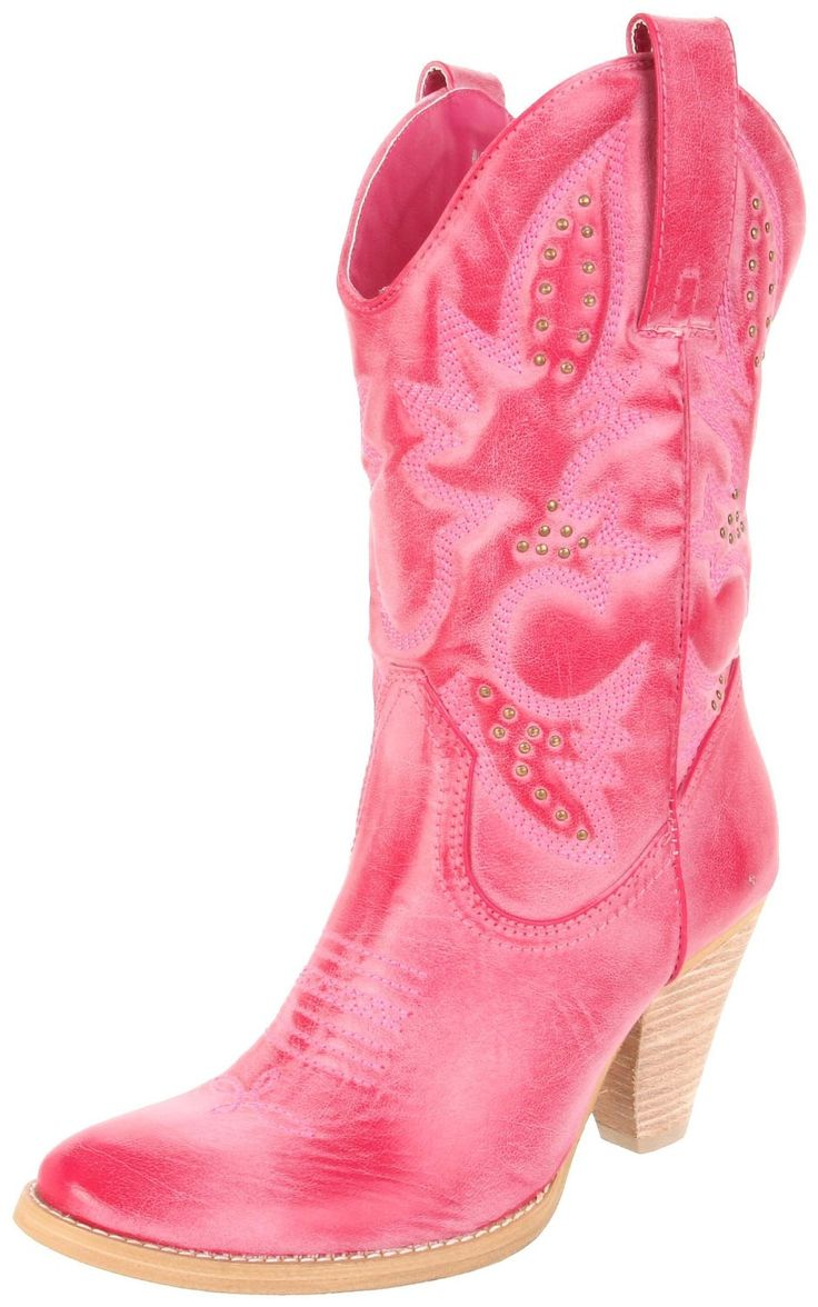 Cowgirl Boots | Fuchsia women's cowgirl boots, cowboy cowgirl boots for girls …