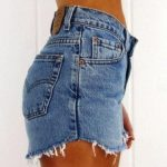 DISTRESSED High Waisted Shorts / Sexy Denim Shorts For Summer: All Sizes.❤Get ...