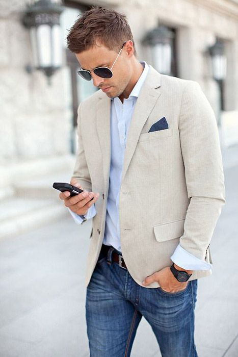 DRESS TRENDS | Sport coat and blazer wearing trends 2016 | dress-trends.com