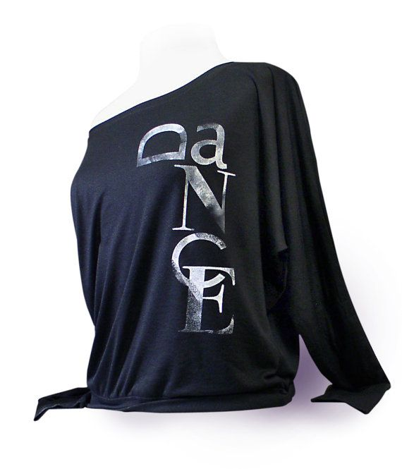 Dance Top. Dance Shirt. Ballet Shirt. Long Sleeve Flowy Dance Top – Black. Dance shirt for ballet, jazz, or tap
