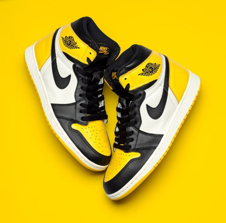 """Detailed Looks at the """"Yellow Toe"""" Air Jordan 1 – HOUSE OF HEAT 