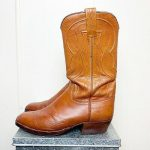 Details about Lucchese the Spanish Brown Leather Cowboy Boots Men's Size 9